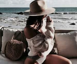 beach, ocean, and beauty image