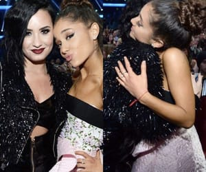 demi lovato, prayer, and ariana grande image