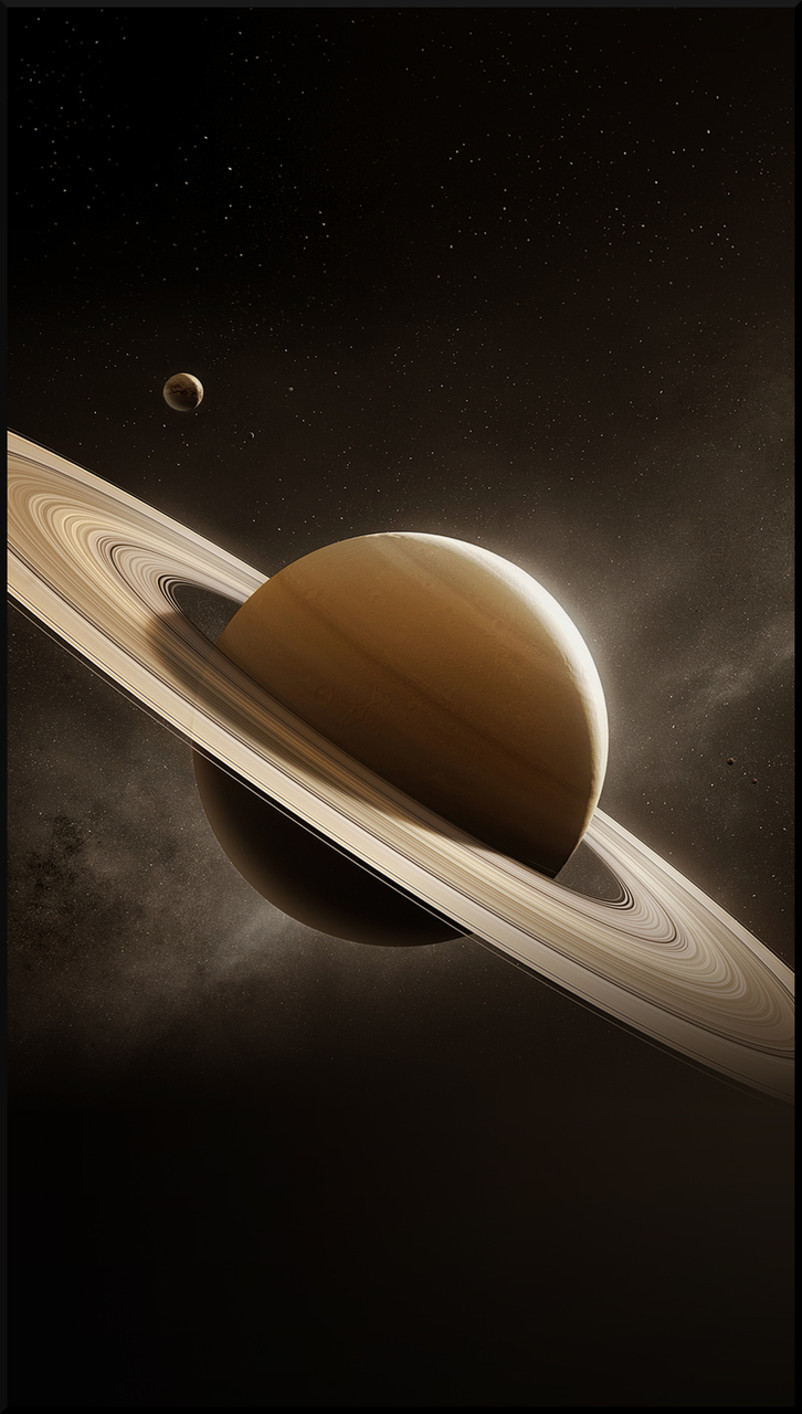 Awesome Saturn Mobile Phone Wallpaper 3840x2500