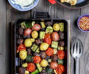 roasted and vegetable image