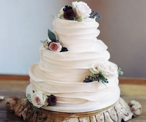 wedding, cake, and white image