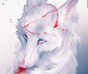 animal, lover, and red image