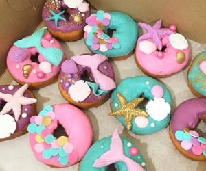 donuts, shells, and star fish image