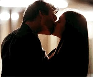 kiss, the vampire diaries, and damon image