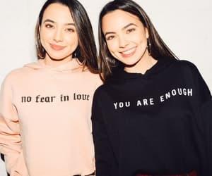 hoodies, sisters, and twins image