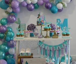 baloes, festa, and roxo image