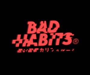gif, red, and bad habits image