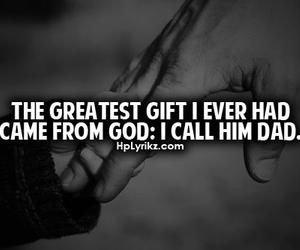 dad, god, and quote image