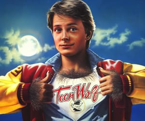 michael j fox, teen wolf, and 80s films image