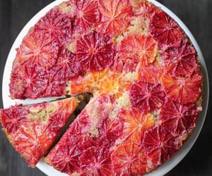 cake, fruit, and grapefruit image