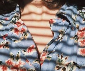 shirt, blue, and fashion image