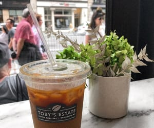 iced coffee, nyc, and americano image