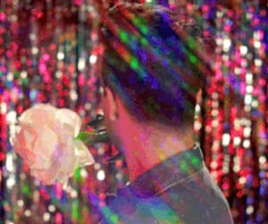brendon urie, flower, and gif image
