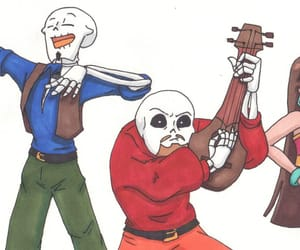 papyrus, sans, and crossover image