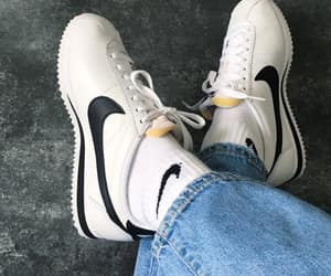 casual, nike, and style image