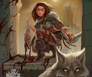 arya stark and game of thrones image