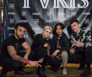 pvris, lynn gunn, and alex babinski image