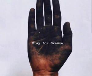 fire, Greece, and prayforgreece image