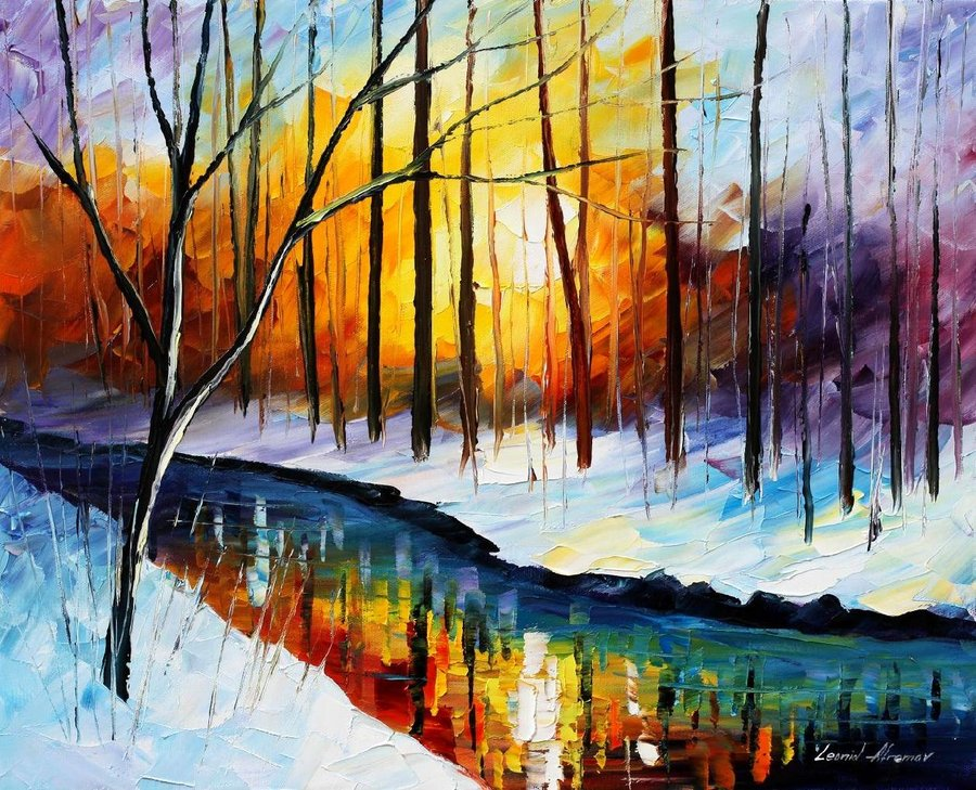 65 images about leonid afremov on we heart it see more about leonid afremov art and painting