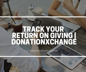 return on giving and item donation image