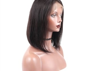 human hair wigs, lace front wigs, and synthetic wigs image