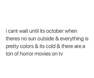 fall, october, and quote image