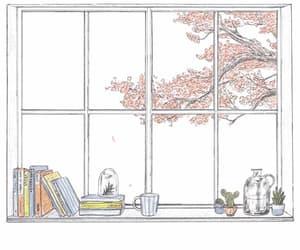 gif, art, and window image