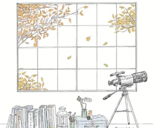 gif, art, and autumn image