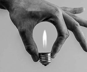 light, photography, and black and white image