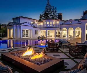 mansion, architecture, and design image