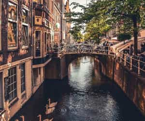 amsterdam, beautiful, and delft image