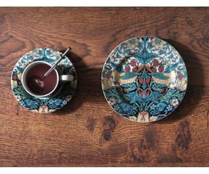 william morris, tea, and porcelain image