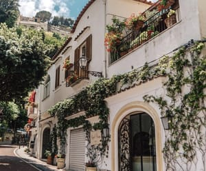 architecture, italy, and positano image