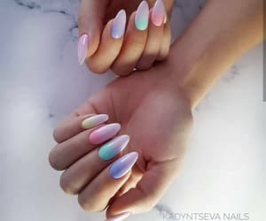 manicure, nail art, and nails image