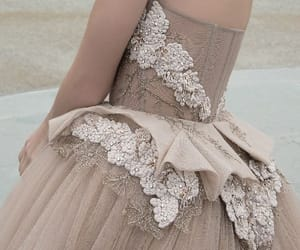 dress, gown, and tulle image