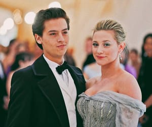 cole sprouse, lili reinhart, and riverdale image