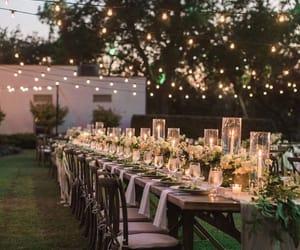 bride, wedding, and light image