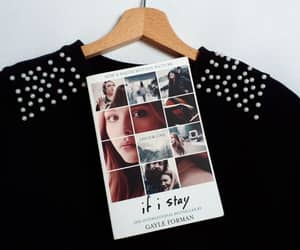black, if i stay, and bookstagram image
