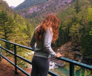 girl, nature, and spain image