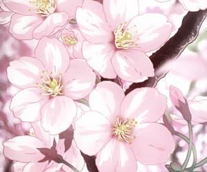 gif, anime, and cherry image