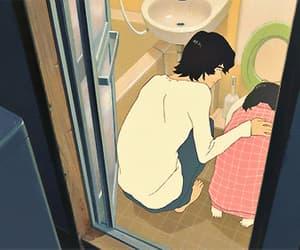 gif, anime, and couple image
