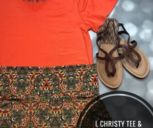 orange, skirts, and summeroutfit image