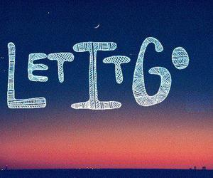 text, let it go, and photography image