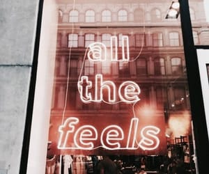 light, neon, and feels image