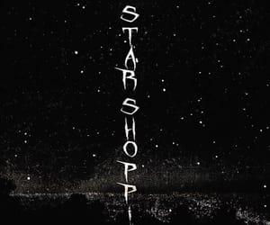 album, background, and black image