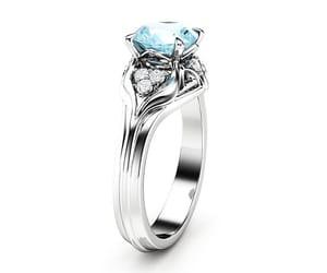 diamonds, engagement ring, and uniqueengagement image