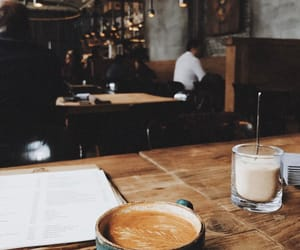 coffee, cafe, and cozy image