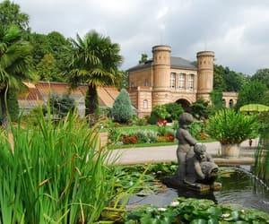 botanic garden, fountain, and hometown image