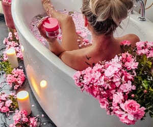 bath, glamour, and pamper image