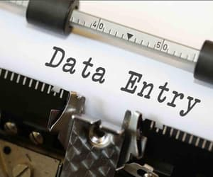 data entry, data entry services, and data entry process image